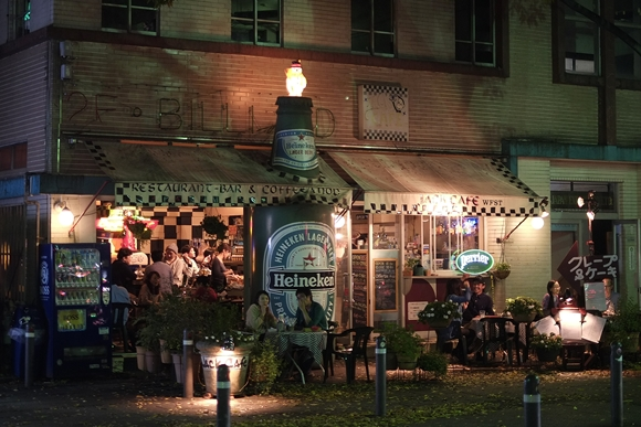 夜のCafe_R