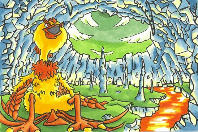 不死鳥フェニの旅立1