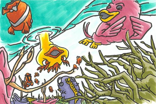 不死鳥フェニの旅立3