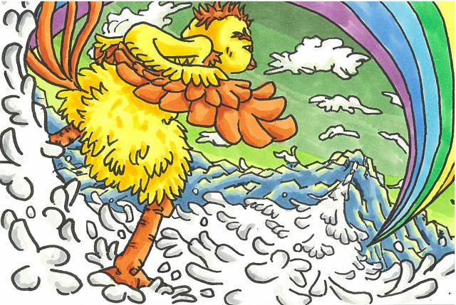 不死鳥フェニの旅立4