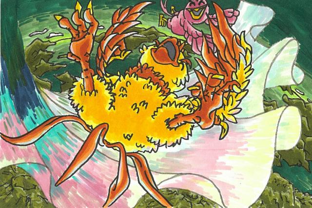 不死鳥フェニの旅立7