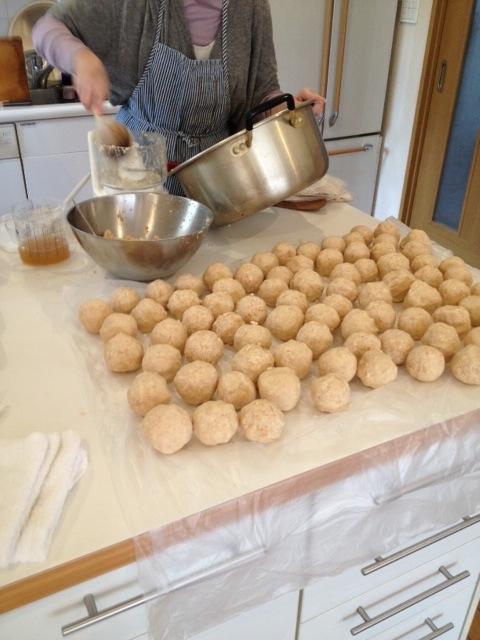 味噌作り工程