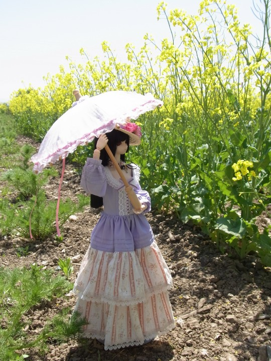 山本処理場 菜の花06