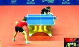 【卓球】 小野思保 VS パーカー 中国オープン2012