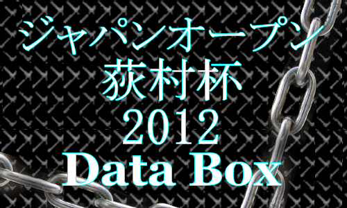 ジャパンオープン2012速報 データボックス!