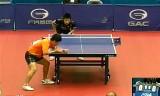 【卓球】 東勇渡 VS 傳恩迪 (U21) ジャパンオープン2012