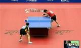 【卓球】 塩野真人VS洪子翔(一般) ジャパンオープン2012