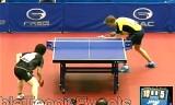 【卓球】 岸川聖也VSパーソン(1回戦)ジャパンオープン2012