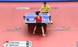 【卓球】 丹羽孝希VSチェンフォン(1回戦) ジャパンオープン2012