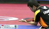 【卓球】 荘智淵VSガオニン(準々決)ジャパンオープン2012