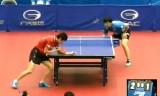 【卓球】 村松雄斗 VS 李虎 (1回戦)ジャパンオープン2012