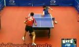 【卓球】 呉尚垠VS鄭栄植(準々決勝)ジャパンオープン2012
