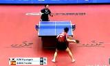 【卓球】 金娥(カット)VSシェンイェンフェイ ジャパンオープン2012