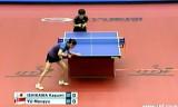 【卓球】 石川佳純VSユーモンユー ジャパンオープン2012