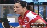 【卓球】 王越古VS石賀浄(準々決勝)ブラジルオープン2012