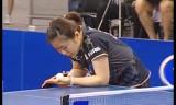 【卓球】 福原愛VS馮天薇(準決勝) ブラジルオープン2012