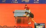【卓球】 柳承敏VSルベッソン(準々決)  ブラジルオープン2012