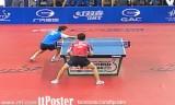 【卓球】 朱世赫VSツボイ(準々決勝)ブラジルオープン2012