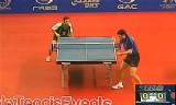 【卓球】 ルベッソン VS マンハニ ブラジルオープン2012