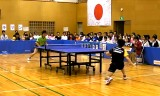 【卓球】 下山隆VS柴田健一(1)日本卓球リーグ2012
