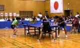 【卓球】 坂本/笠原VS柴田/河又2/4 日本リーグ2012