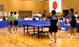 【卓球】 坂本/笠原VS柴田/河又4/4 日本リーグ2012