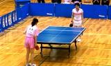 【卓球】 藤井寛子 VS 浜本由惟 1/3 日本リーグ2012