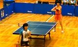【卓球】 天野優VS浜本由惟(エリート)4/5日本リーグ2012