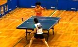 【卓球】 阿部恵VS石川梨良(エリート)2/4日本リーグ2012