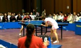 【卓球】 石垣優香VS松浦亜希子 2/4 日本リーグ2012