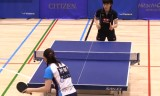 【卓球】 石川佳純VS阿部恵(高画質) 日本リーグ2012