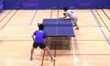 【卓球】 大矢英俊VS御内健太郎(カット)日本リーグ2012