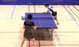 【卓球】 藤井寛子 VS 天野優(サンリツ) 日本リーグ2012
