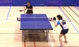 【卓球】 藤井優子 VS 阿部恵(サンリツ) 日本リーグ2012