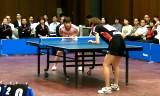 【卓球】 田代早紀VS肖萌(アスモ)3/4日本リーグ2012