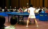 【卓球】 藤井寛子 VS 平田有貴 2/4 日本リーグ2012