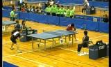 【卓球】 平屋広大VS岡野康幸2 全日本実業団2012