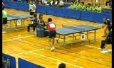 【卓球】 平屋広大VS岡野康幸1 全日本実業団2012