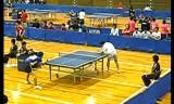 【卓球】 塩野真人VS加藤健太1 全日本実業団2012