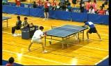 【卓球】 塩野真人VS加藤健太2 全日本実業団2012