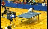 【卓球】 張一博VS澤口大和2 全日本実業団2012