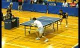 【卓球】 張一博VS澤口大和1 全日本実業団2012