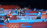 【卓球】 パーカーVSクマハラ(女子)ロンドン五輪2012