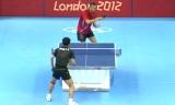 【卓球】 張継科VSサムソノフ(1シーン)ロンドン五輪2012