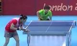 【卓球】 丁寧VS姜華珺(4回戦2) ロンドン五輪2012