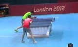 【卓球】 丁寧VS姜華珺(4回戦1) ロンドン五輪2012
