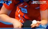 【卓球】 福原愛VSリージエ(7セット目)ロンドン五輪2012