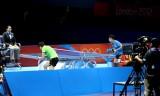 【卓球】 丁寧VS馮天薇 (1分間) ロンドン五輪2012