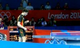 【卓球】 オフチャロフVS荘智淵(ワンシーン) ロンドン五輪2012