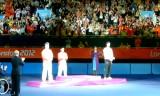 【卓球】 卓球男子シングルスの表彰式の映像を紹介